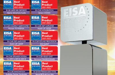 Autohifin EISA palkinnot 2021-2022 on jälleen jaettu